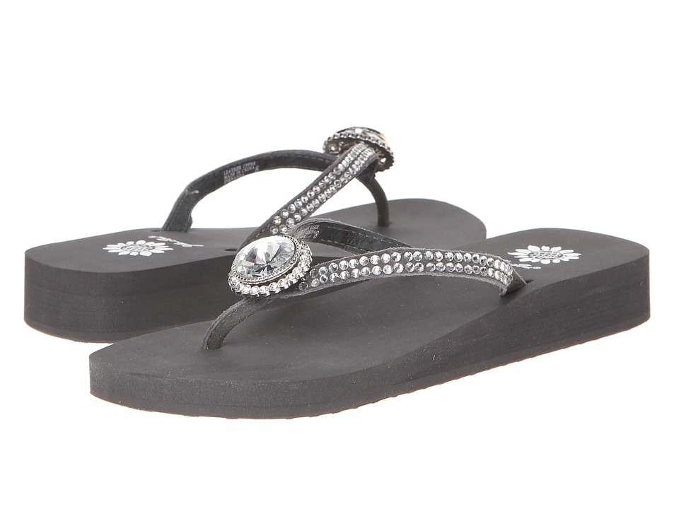 Yellow Box - Fernanda (Charcoal) Women's Sandals