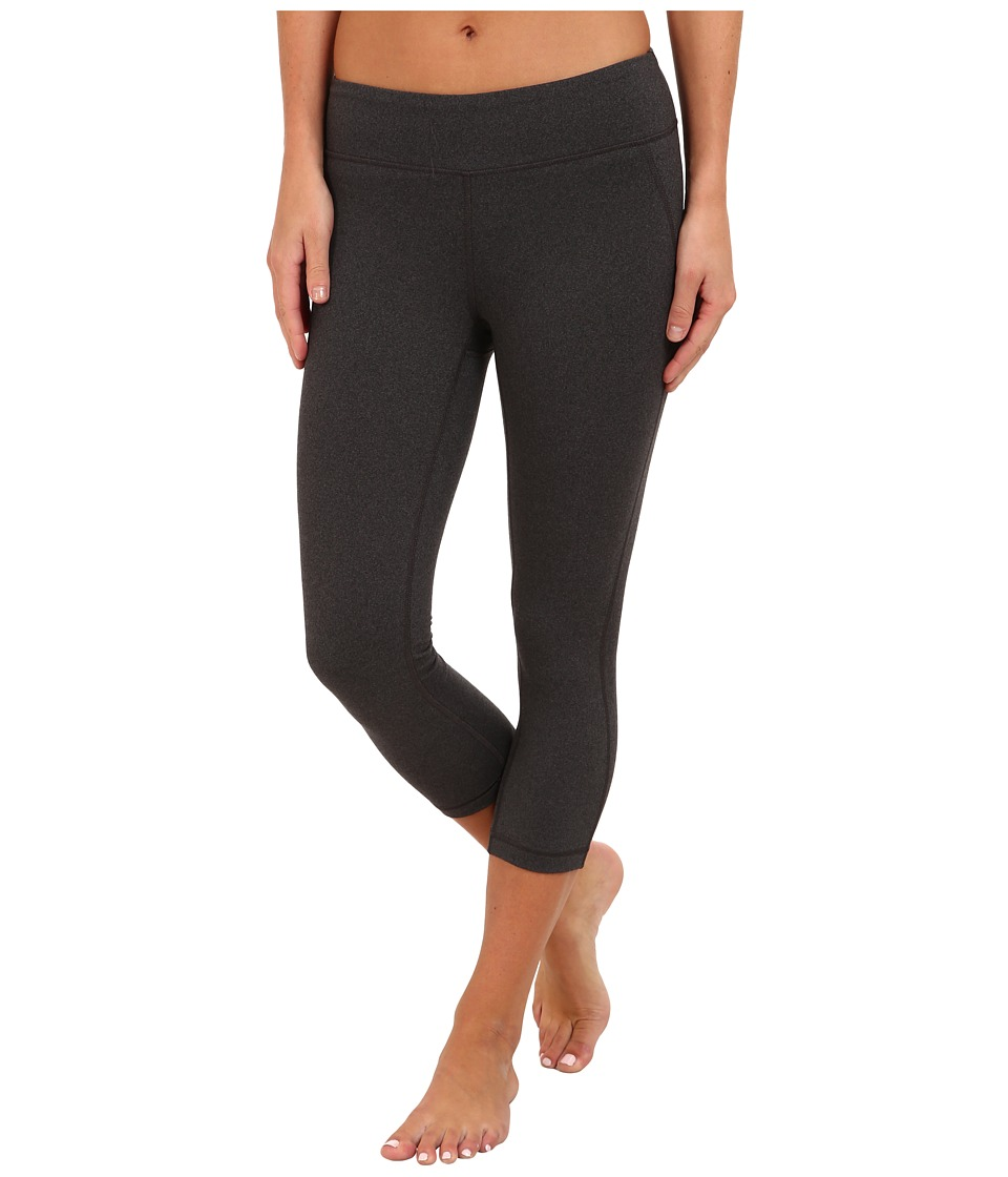 New Balance - Spree Capri (Black Heather) Women's Capri