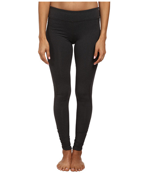 New Balance - Spree Shirred Tight (Black Heather) Women's Workout