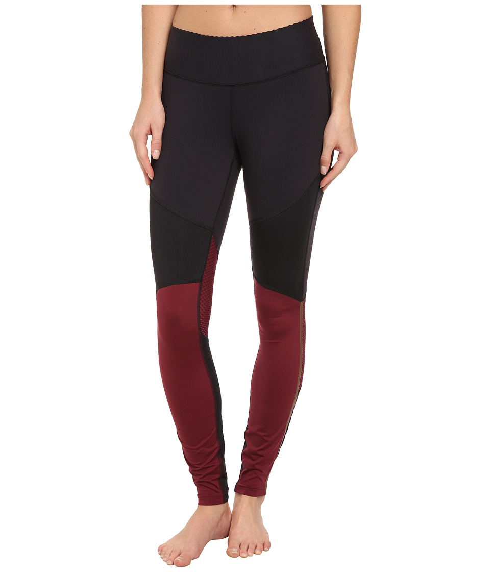 New Balance - HKNB Perfect Fitted Pant (Cabernet/Black) Women's Workout