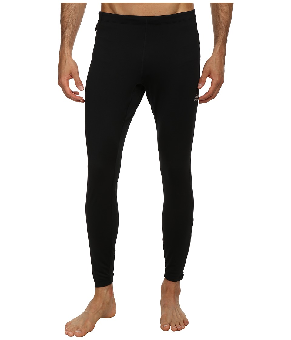 New Balance - Heat Fitted Tight (Black) Men's Workout