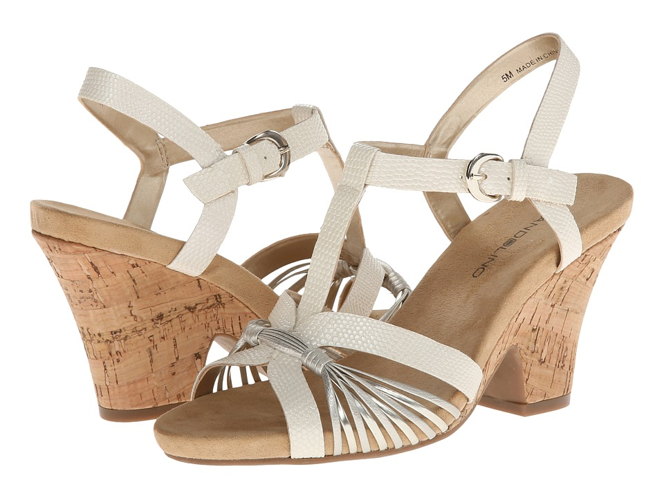 Bandolino - Bellwind (White) Women's Wedge Shoes