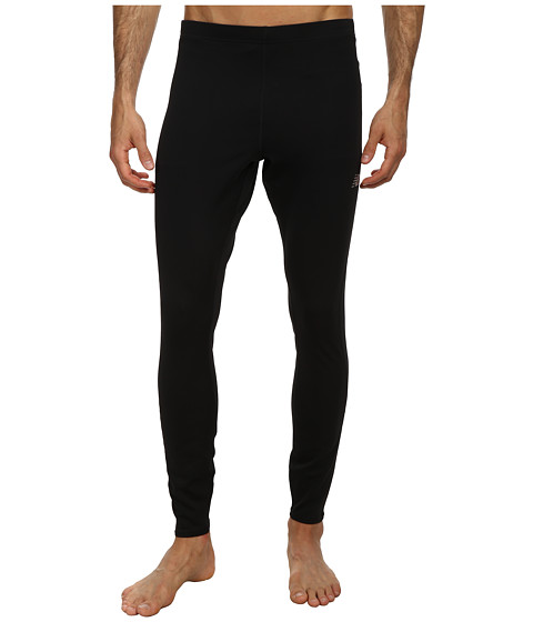 New Balance - Go 2 Fitted Tight (Black/Black) Men's Workout