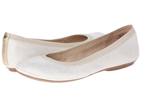 Bandolino - Edition (Natural/Gold Synthetic) Women's Flat Shoes