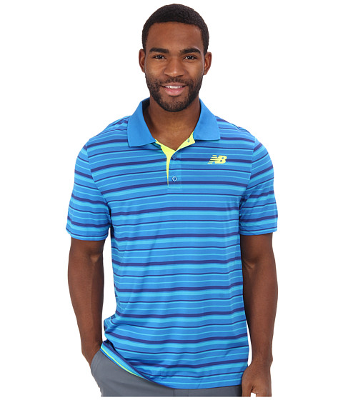 New Balance - Tournament Polo Shirt (Laser Blue) Men