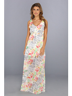 SALE! $59.99 - Save $68 on LAmade Floral Split Hem Maxi Dress (Hawaiian Floral) Apparel - 53.13% OFF $128.00