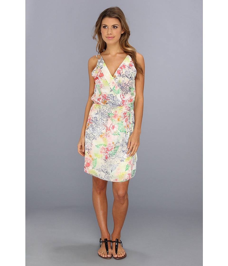 LAmade - Floral Cross Over Dress (Hawaiian Floral) Women's Dress