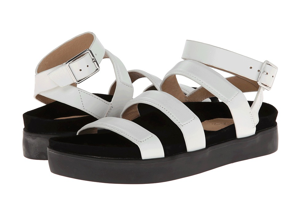 L.A.M.B. - Rose (White) Women's Sandals