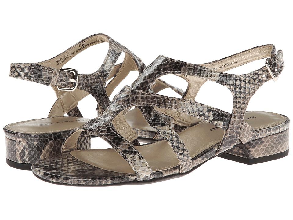 Bandolino - Elysain (Grey Multi Synthetic) Women's Sandals