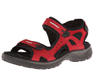 ECCO - Yucatan Sandal (Chili Red/Black) -