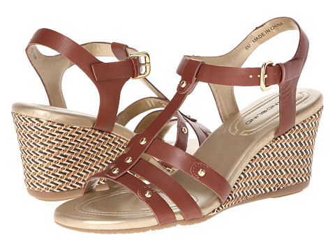 Bandolino - Kimli (Dark Brown Leather) Women's Sandals