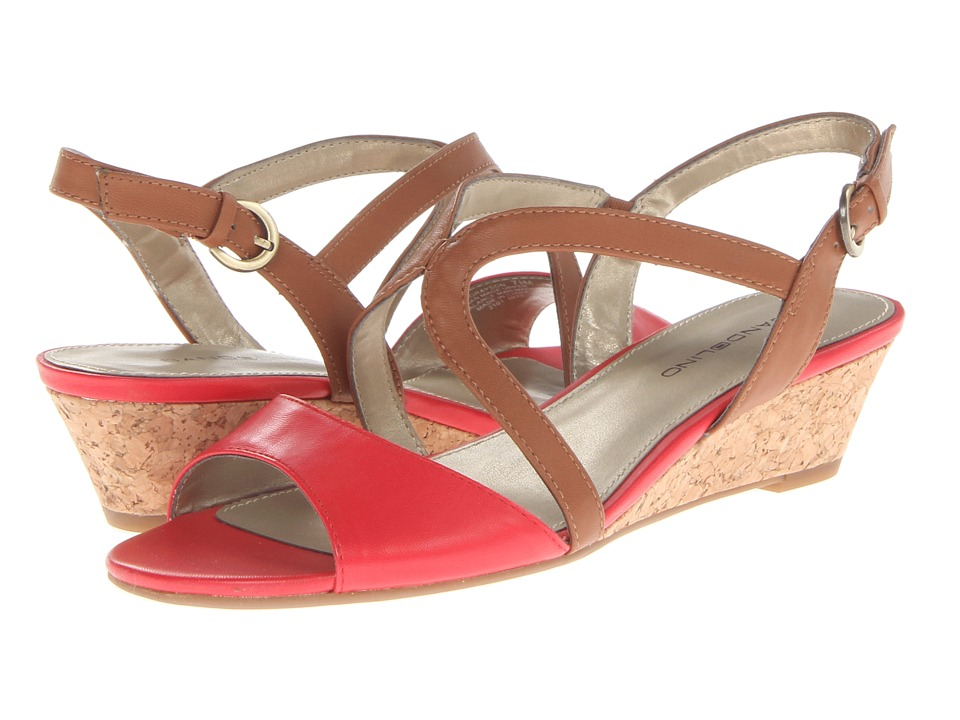 Bandolino - Grayson (Orange/Tan Synthetic) Women's Shoes
