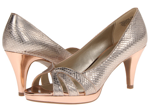 Bandolino - Marylebone (Gold Multi Synthetic) High Heels