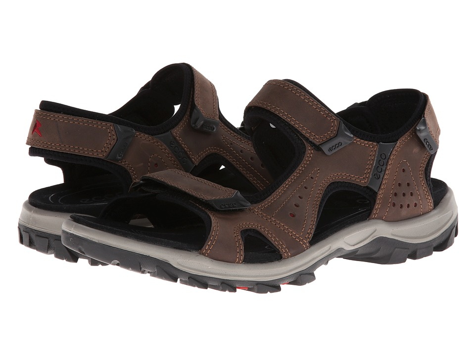 ECCO Sport - Offroad Lite Sandal (Coffee/Brick) Men's Shoes