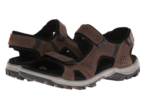 ECCO Sport - Offroad Lite Sandal (Coffee/Brick) Men