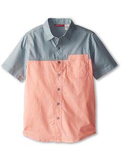 SALE! $13.99 - Save $18 on UNIONBAY Kids Heaton Button Down Shirt (Big Kid) (Bright Crush) Apparel - 56.28% OFF $32.00