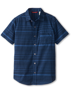 SALE! $17.99 - Save $14 on UNIONBAY Kids S S Chandler Chambray Button Up (Big Kid) (Deep Space Blue) Apparel - 43.78% OFF $32.00