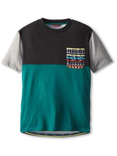 SALE! $11.99 - Save $14 on UNIONBAY Kids Equinox Cut and Sew Crew Shirt (Big Kid) (North Sea Heather) Apparel - 53.88% OFF $26.00