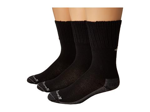 Sockwell - Big Easy 3-Pack (Black) Women's Crew Cut Socks Shoes