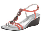 Bandolino Hutch (Coral Synthetic) Women's Sandals