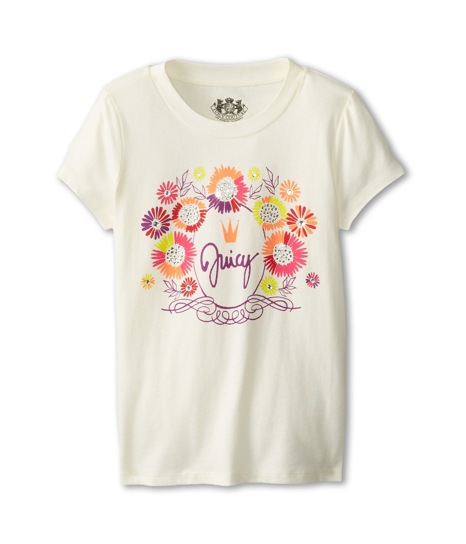 Juicy Couture Kids - Juicy Festival Tee (Little Kids/Big Kids) (Angel) Girl