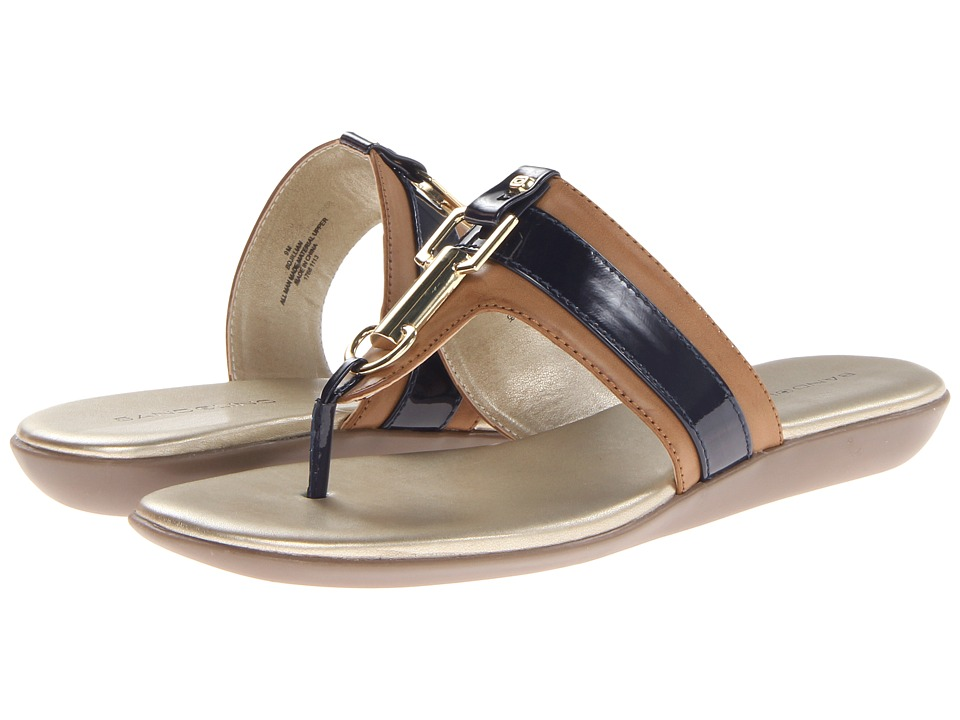 Bandolino - Jillian (Natural/Navy) Women's Sandals