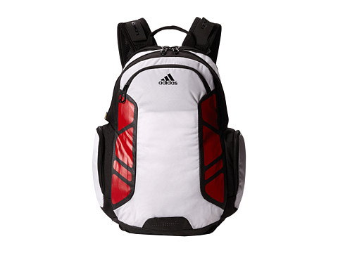... UPC 716106702969 product image for adidas Climacool Speed Backpack  (White Scarlet) Backpack Bags ce0f4ebdff