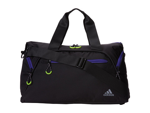 adidas - Fearless Club Bag (Black/Power Purple) Tote Handbags