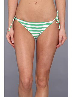 SALE! $16.99 - Save $23 on Bikini Lab Ashley Stripe Side Pant (Green) Apparel - 57.53% OFF $40.00