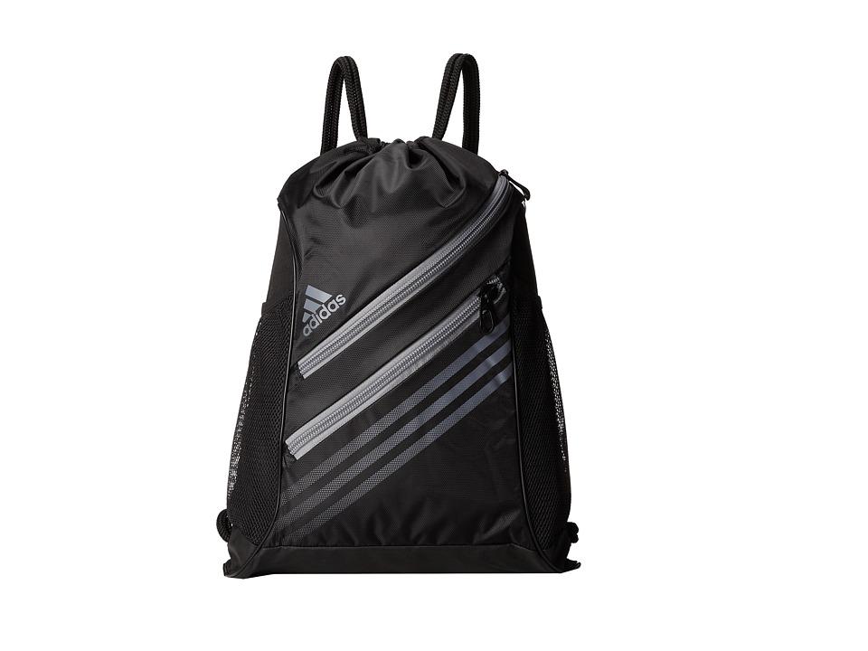 adidas - Strength Sackpack (Black/Tech Grey) Backpack Bags