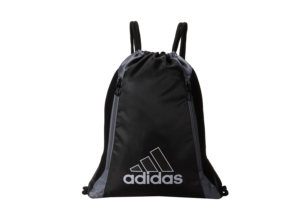 adidas - Lightning Sackpack (Black/Onix) Backpack Bags