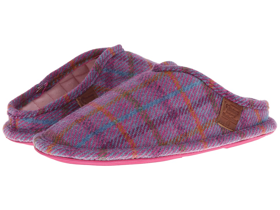 Bedroom Athletics - Elizabeth (Purple Check) Women's Slippers