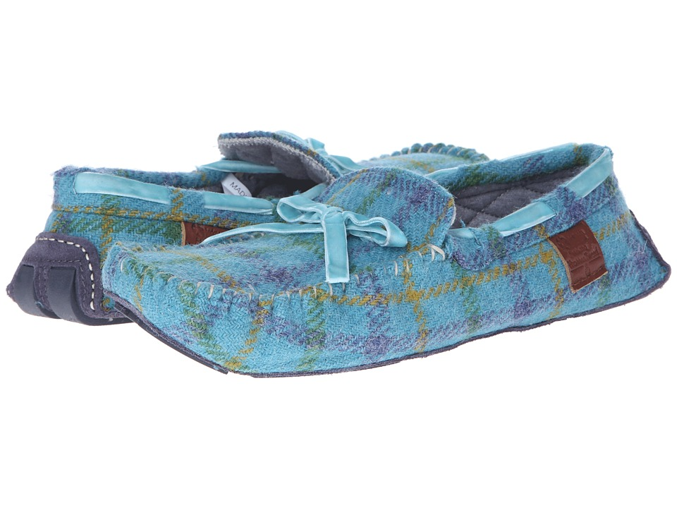 Bedroom Athletics - Victoria (Blue Check) Women's Slippers