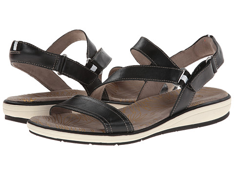 Naturalizer - Gesture (Black Leather) Women's Sandals