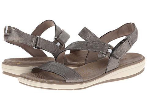 Naturalizer - Gesture (Dark Pewter Metallic) Women's Sandals