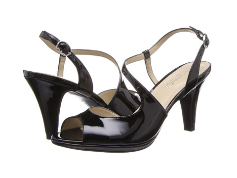 Naturalizer - Inspire (Black Shiny) High Heels