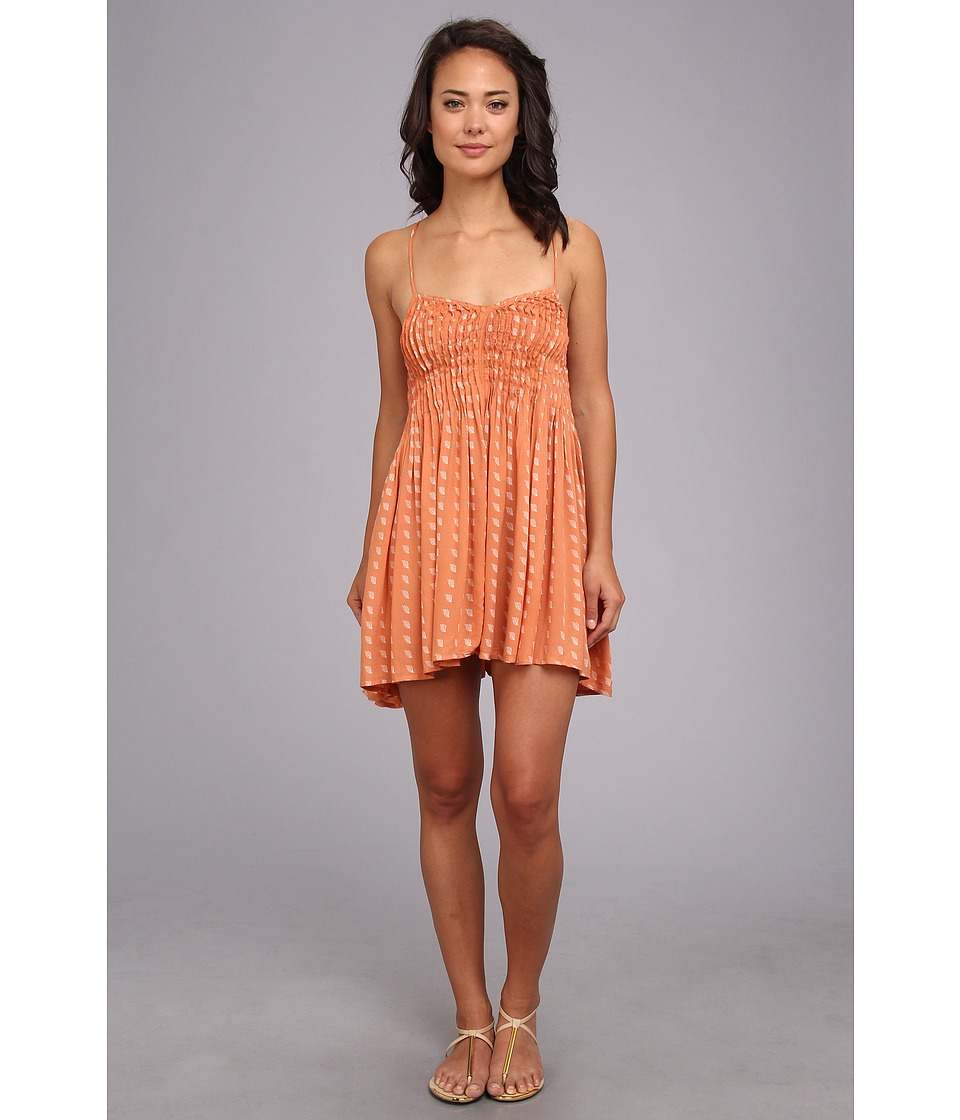 RVCA - Told Secrets Dress (Sunburnt) Women's Dress