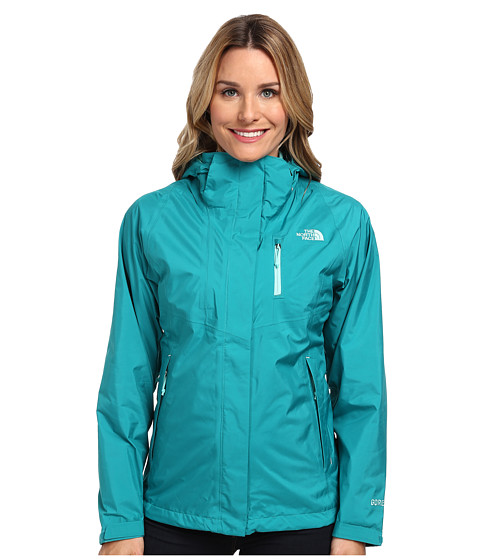 The North Face - Mountain Light Jacket (Fanfare Green/Fanfare Green) Women