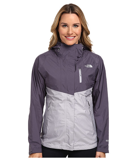 The North Face - Mountain Light Jacket (Dapple Grey/Greystone Blue) Women's Coat