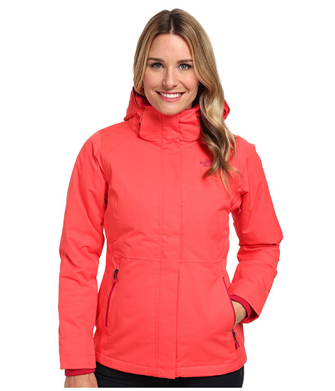 The North Face - Inlux Insulated Jacket (Rambutan Pink) Women's Coat