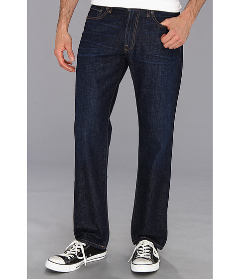 Lucky Brand - 221 Legend Straight in Ruffin (Ruffin) Men's Jeans