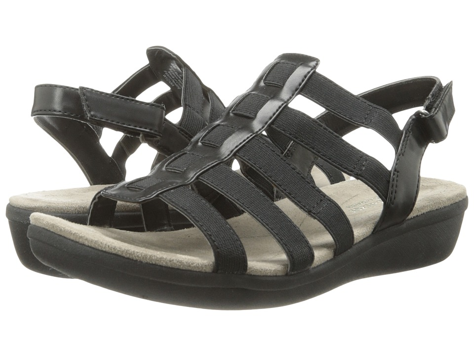 Naturalizer - Wyonna (Black Core/Smooth) Women's Sandals