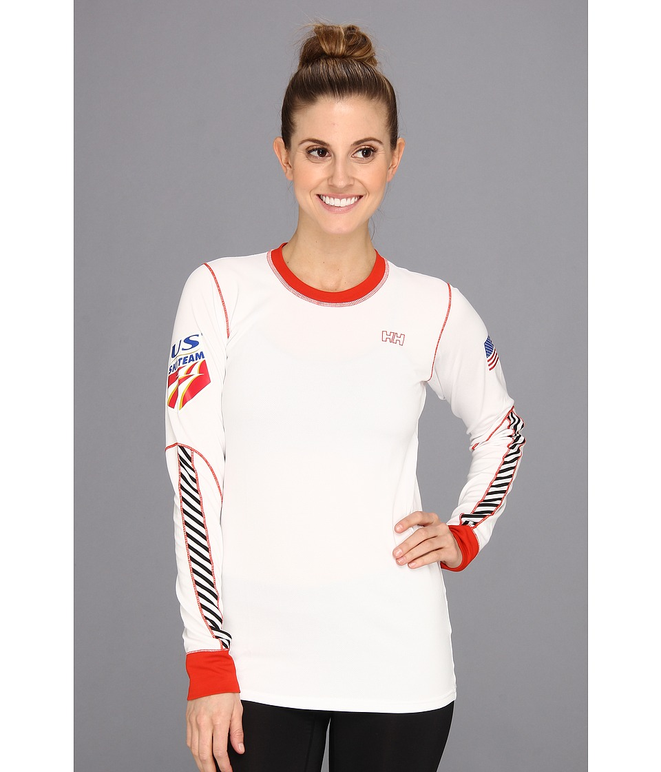 Helly Hansen - USSA HH One L/S (White) Girl