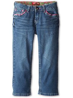 SALE! $13.99 - Save $22 on UNIONBAY Kids Rachel Denim Cropped Jean (Big Kids) (Salt) Apparel - 61.14% OFF $36.00