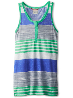 SALE! $15.99 - Save $6 on UNIONBAY Kids Alia Striped Tank Top (Big Kids) (Spring Green) Apparel - 27.32% OFF $22.00