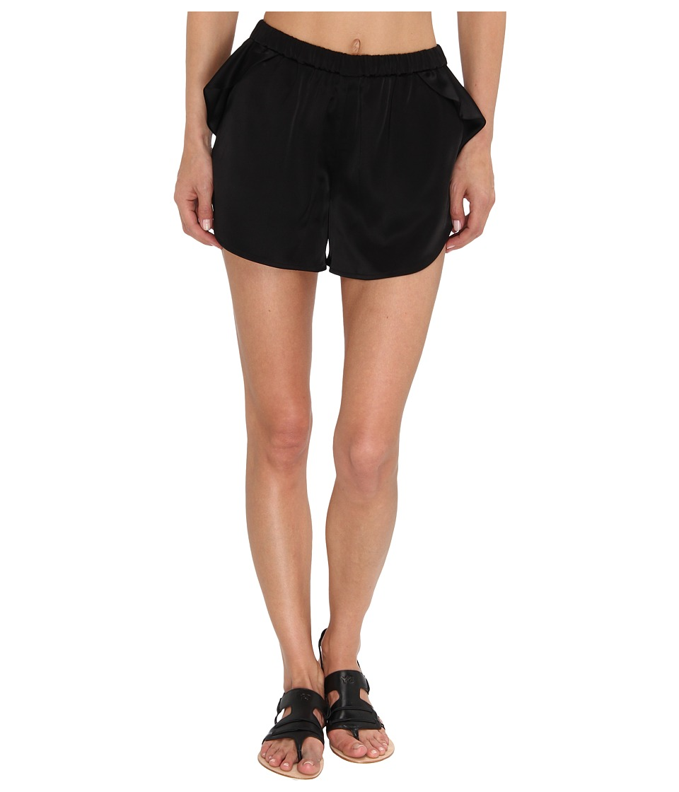 adidas Y-3 by Yohji Yamamoto - Sateen Short (Black) Women's Shorts