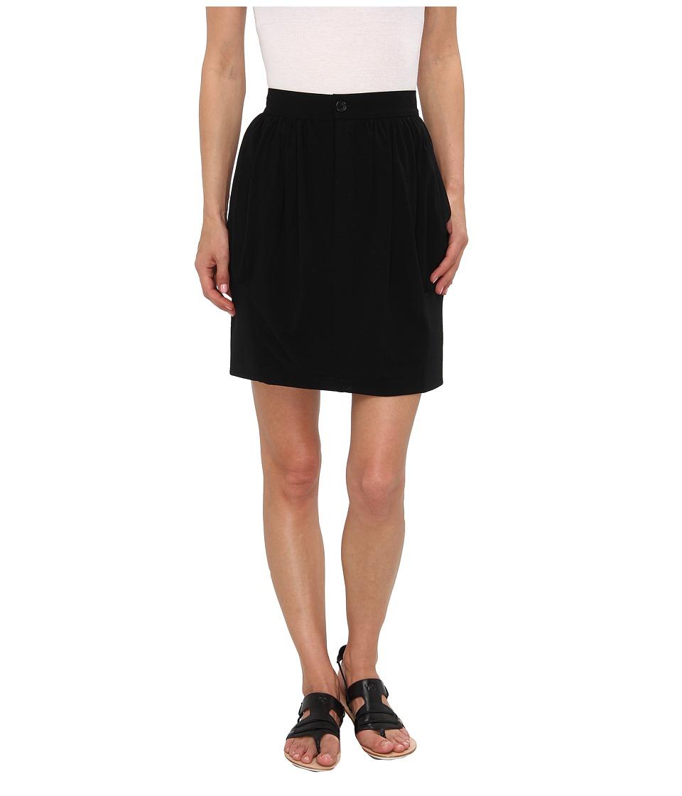 adidas Y-3 by Yohji Yamamoto - Lux Rib Skirt (Black) Women's Skirt