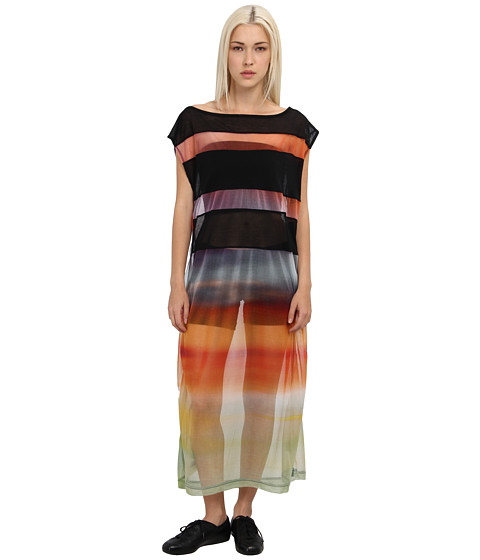 adidas Y-3 by Yohji Yamamoto - Gauze Dress (Sunset/Black) Women