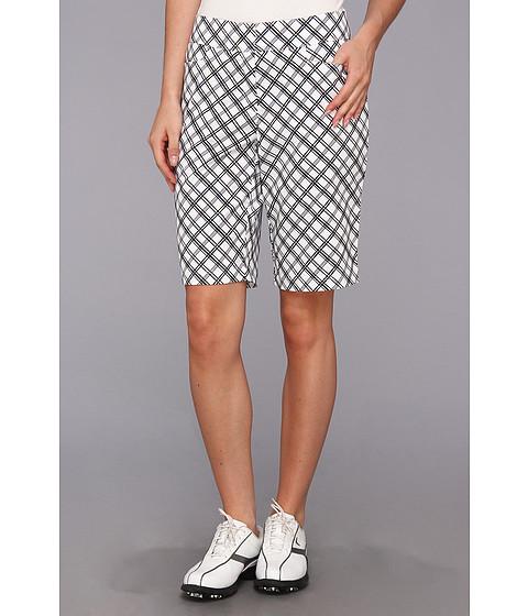 Tail Activewear - Brenna Short (Diagonal Plaid) Women's Shorts