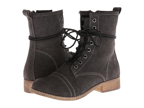 MIA - Wayne (Black Canvas) Women's Zip Boots